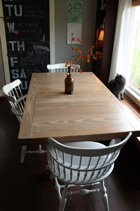 Reglaze Dining Room Table Diy
