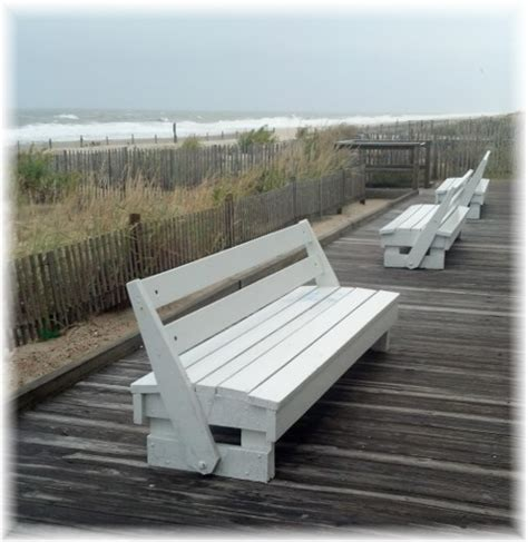 Rehoboth Beach Diy Boardwalk Bench Plan