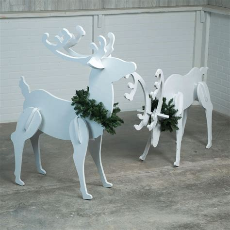 Reindeer Plans Plywood