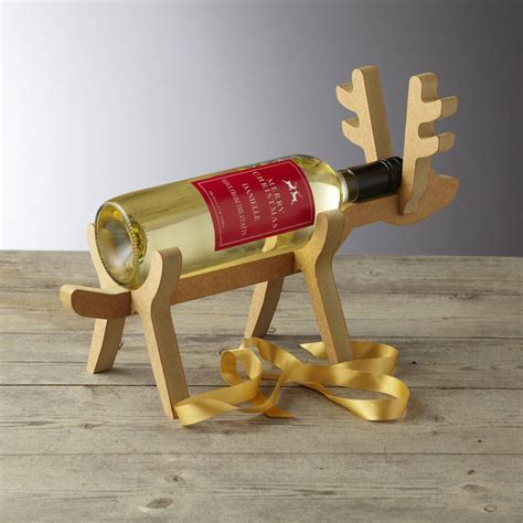 Reindeer Wine Bottle Holder Plans