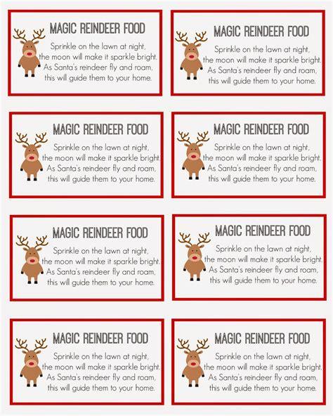 Reindeer-Food-Template