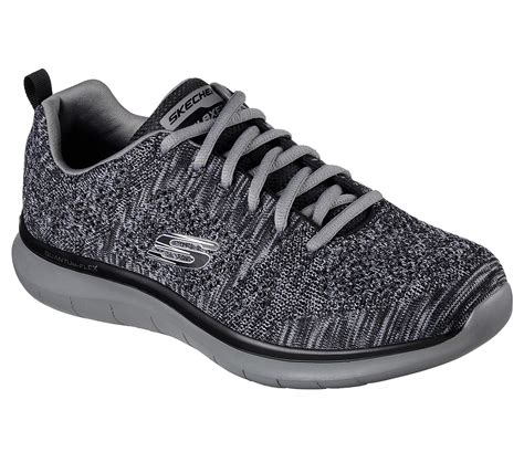 Relaxed Fit Quantum Flex Smyzer Mens Sneakers