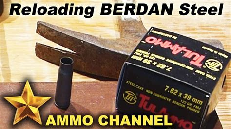 Reloading Steel Case Ammo And Remington Extended Range Ammo