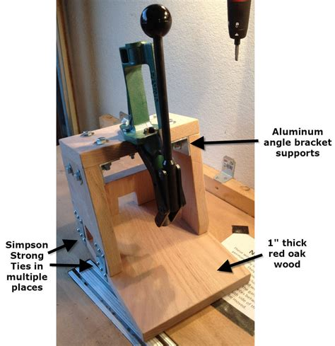 Reloading-Press-Stand-Plans