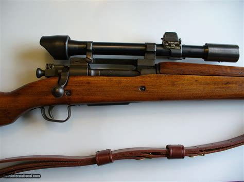 Remington 1903 Sniper Rifle And Remington 30 Ought 6 Rifles