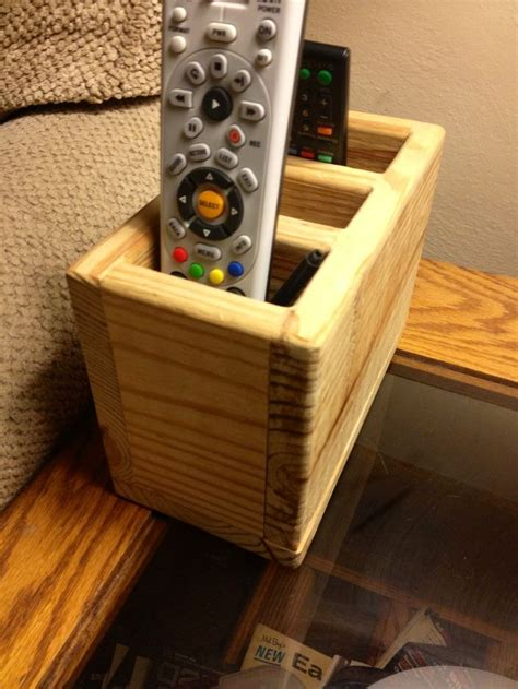 Remote Control Storage Diy Projects