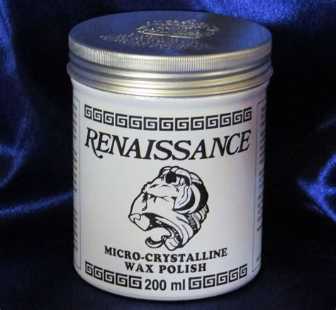 Renaissance Micro Crystalline Wax Polish - 200ml Can For.