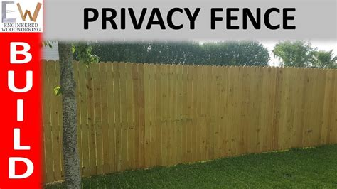 Replacing Privacy Fence Diy Cost Youtube
