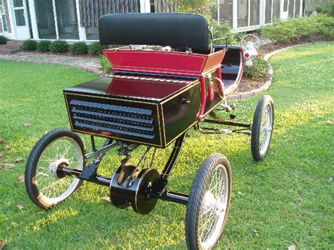 Replica Homemade Horseless Carriage Plans