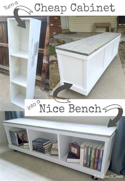 Repurpose Old Storage Cabinets