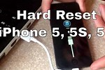 Reset and Restore iPhone 5