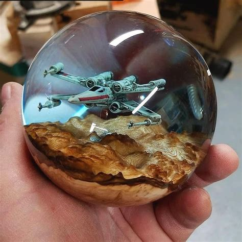 Resin And Wood Diy Crafts