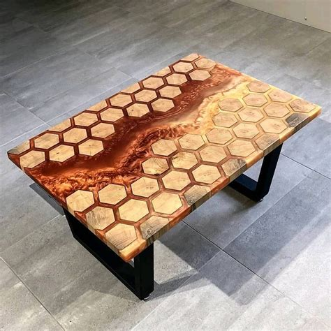 Resin And Wood Tables Youtube