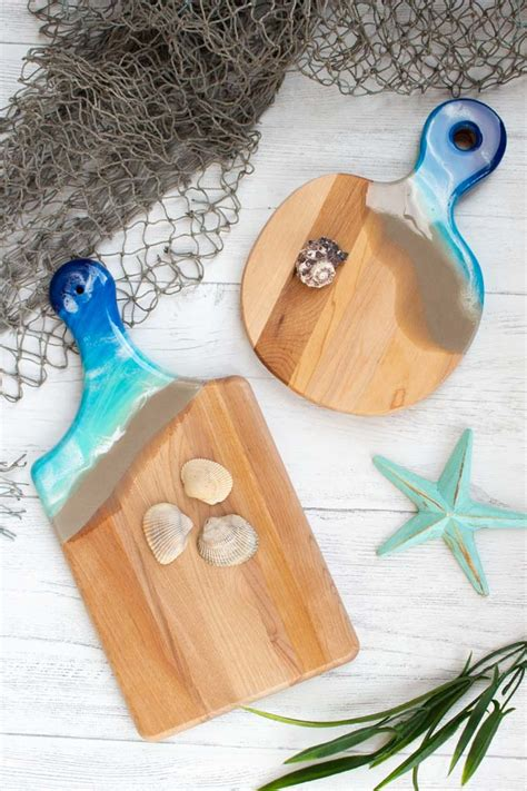 Resin Cutting Boards Diy