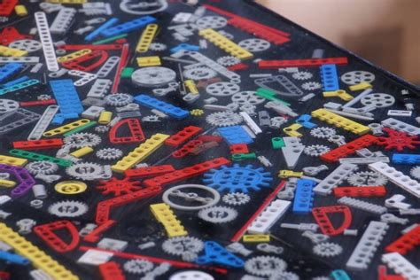 Resin Table Diy Lego