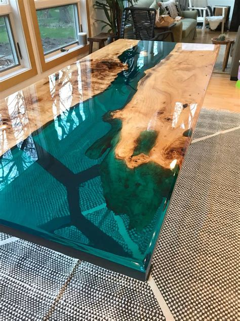 Resin Table Top Designs Pictures