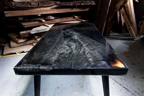 Resin Table Tops Diy Fire