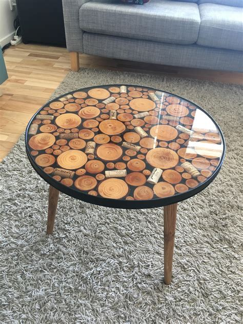 Resin Wood Coffee Table Diy