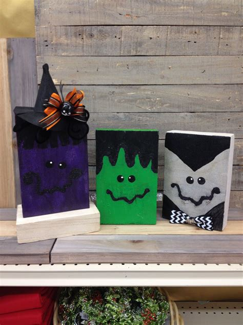 Resin Wood Plaque Diy Halloween