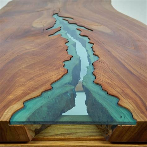 Resin Wood Table Woodworking