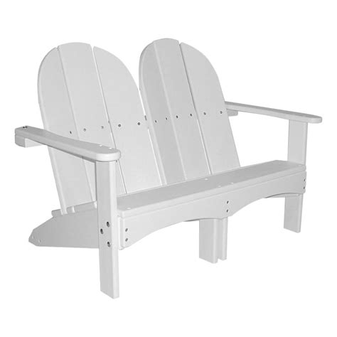 Resin-Double-Adirondack-Chair