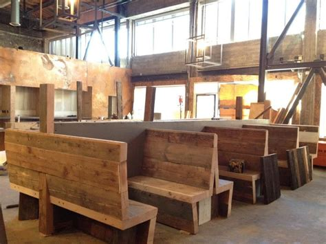 Restaurant Booth Plans Rustic