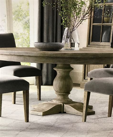 Restoration Hardware Table Diy Finish Basement