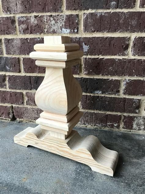 Restoration-Hardware-Wood-Pedestal-Diy-Trestle