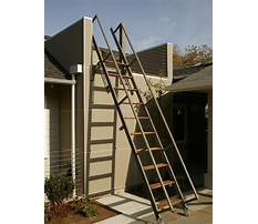 Best Retractable stairs outdoor plans and designs
