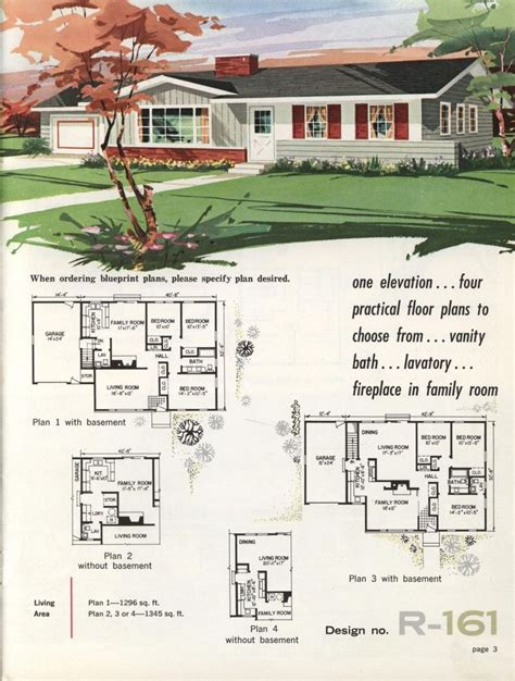 Retro Home Plans Ranch
