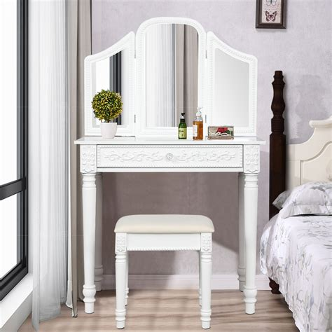 Retro-White-Dressing-Table