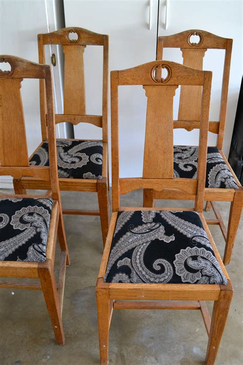 Reupholstered Chairs DIY