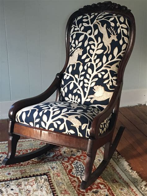Reupholstering An Antique Rocking Chair
