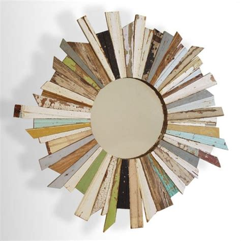 Reusable Wood Table And Mirror Diy Starburst