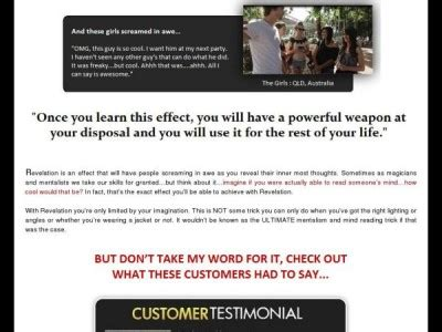 [click]revelation Effect Mentalism And Mind Reading.