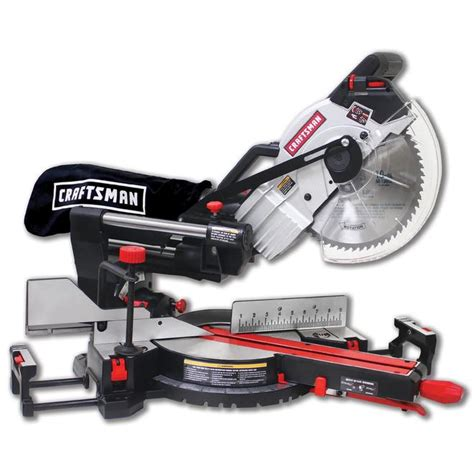 Review Craftsman Sliding Compound Miter Saw