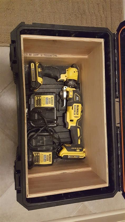 Ridgid Mobile Tool Storage Organization Diy