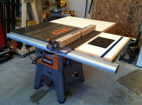 Ridgid R4512 Router Table Insert Plans