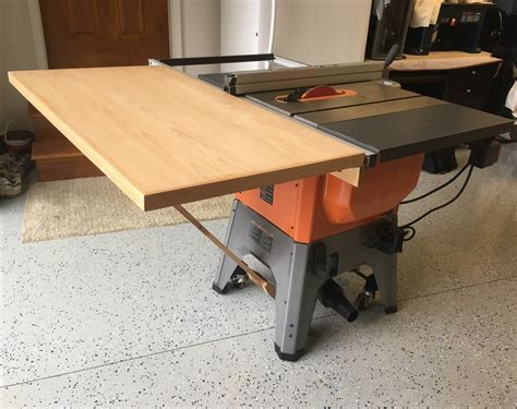 Ridgid-Table-Saw-Outfeed-Table-Plans