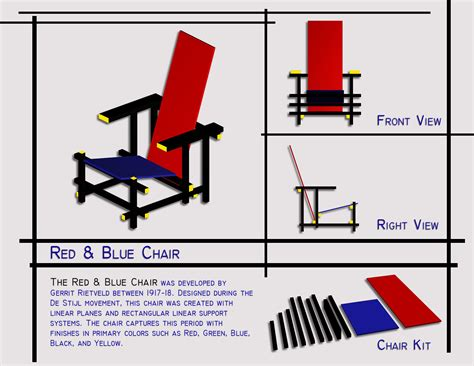 Rietveld Furniture Plans
