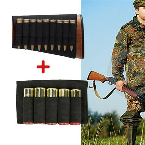 Rifle Stock Ammo Holder For 9 9mm And Russian 9mm Ap Ammo