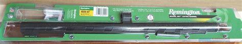 Rifled Slug Barrel For Remington 887 Nitro Mag And Savage Arms Mark Ii Fvsr 22lr Rifle With Threaded Barrel