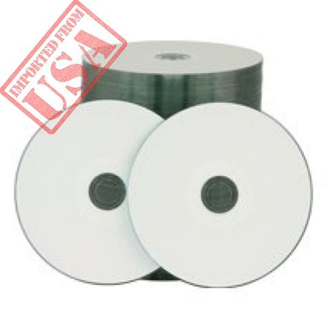 Rimage Classic Inkjet DVD-R 16x 4.7GB White Hub Printable 600 Count
