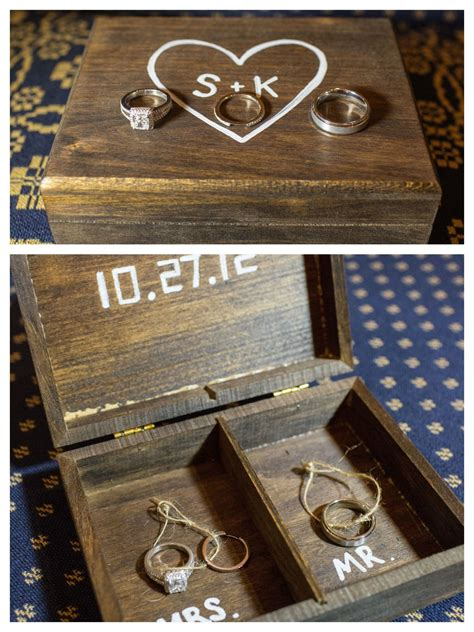 Ring Bearer Box Diy Ideas