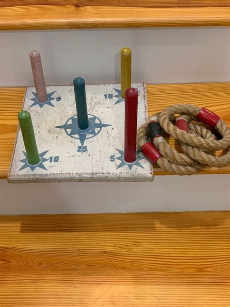 Ring Toss Peg Into Wood Diy Projects