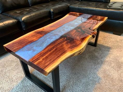 River Coffee Table Diy 6