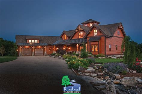 Riverbend Timber Frame Barn Style Floor Plans