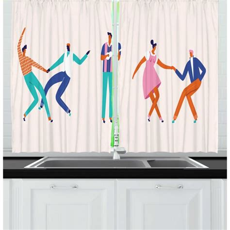 Rock And Roll Bedding With Matching Curtains