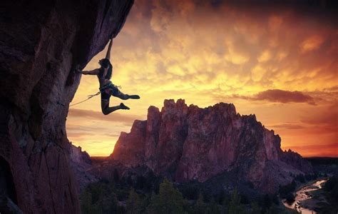 Rock Climbing Desktop Wallpaper