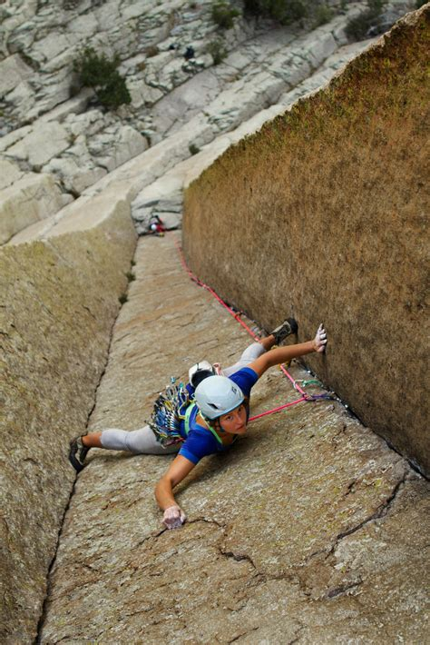 Rock Climbing Devils Tower